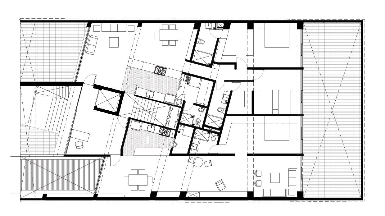 Vivienda-Colectiva, Temístocles-12, JSA, arquitectura, casas, diseño